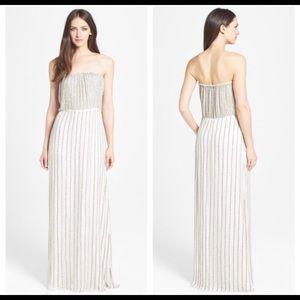 Dresses & Skirts - Parker Strapless Beaded mini dress